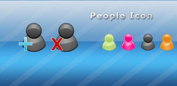 People Icon hinzufügen/löschen in 4 verschiedenen Farben als .png  + 832 mal runtergeladen.