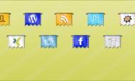 9 Flaggen Web Icons zum kostenlosen Download als .png  + 818 mal runtergeladen.