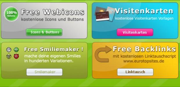 4 Schaltflächen Templates zum kostenlosen Download als .psd  + 1415 mal runtergeladen.