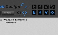 Moderne Webseiten Elemente zum kostenlosen Download für deine Webseite.  + 865 mal runtergeladen.