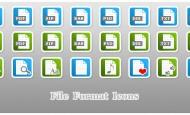 File Format Icons als.png zum kostenlosen Download. Alle Icons sind in grün und blau im Set enthalten. Ein leeres Icon für eigene Symbole liegt bei.  + 816 mal […]