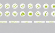 E-Commerce Icons als.png zum kostenlosen Download. Plus passende Buttons zu den Free Icons.   + 844 mal runtergeladen.