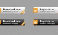 Free Button Template zum kostenlosen Download. Die Buttons sind als .psd und .png vorhanden und können frei verändert werden.  + 1560 mal runtergeladen.