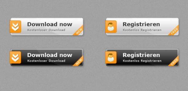 Free Button Template zum kostenlosen Download. Die Buttons sind als .psd und .png vorhanden und können frei verändert werden.  + 1339 mal runtergeladen.