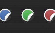 Free Aufkleber Icons zum kostenlosen download. Die Icons liegen als .psd vor und können so frei gestaltet werden. Es sind auch 3 .png´s dabei in 3 verschiedenen Farben.  […]