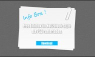 Hier haben wir mal eine Infobox im Design eines Notizblocks erstellt. Die Infobox liegt als .psd vor und darf frei benutzt und verändert werden. Der Download idt kostenlos.  […]