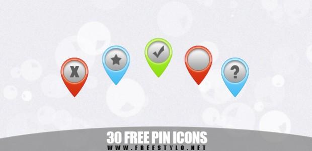Free Pin Icons mit verschiedenen Symbolen und in 3 Farben. Die Icons sind wie immer zur freien Verwendung verfügbar. Ich möchte hier nochmal ausdrücklich darauf hinweisen das alle Icons […]