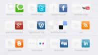 Free Social Media Icons mit Hover Effekt. Die Icons liegen als .png vor und richtig eingebaut ergibt es einen schönen Effekt.  + 1131 mal runtergeladen.